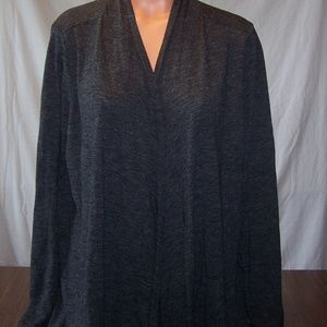 Old Navy Open Front Cardigan 2X Gray v701